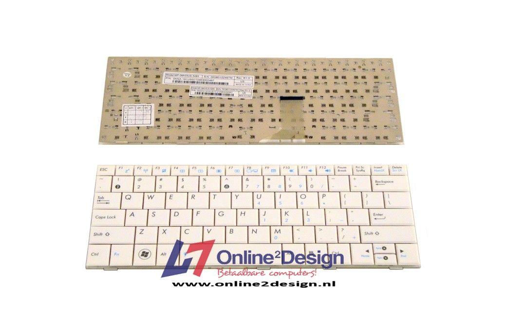 Asus EEE PC 1001/1005/1008 US keyboard (wit)