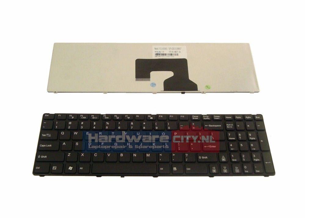 Medion US chiclet keyboard