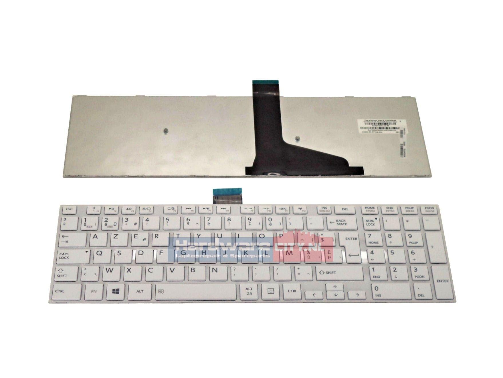 Toshiba Satellite L50/ L70 series BE keyboard (wit)