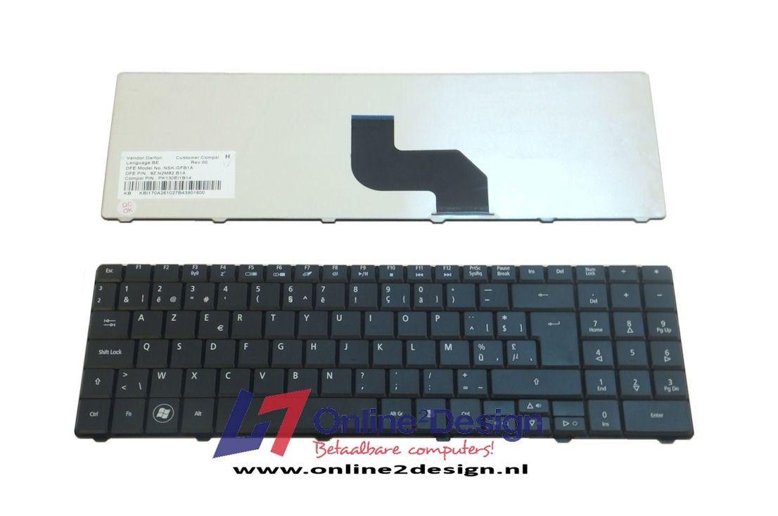 Acer BE keyboard (zwart)