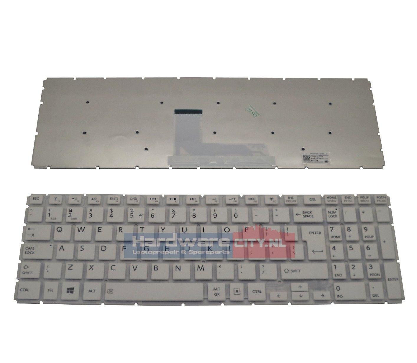Toshiba Satellite L50-B/ L50D-B US keyboard (wit)