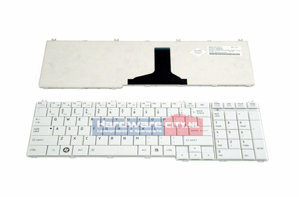Toshiba Satellite C650/L650/L670 US keyboard (glossy wit)