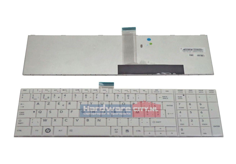 Toshiba Satellite C850/C870 series BE keyboard (wit)