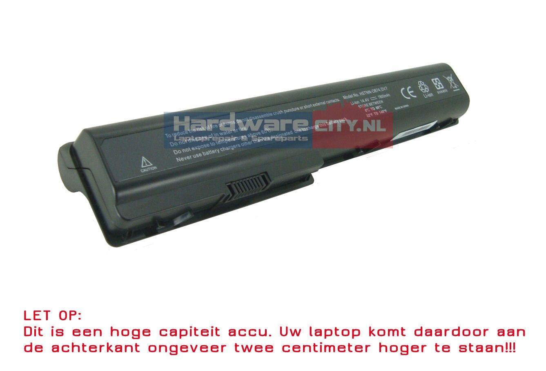 HP Pavilion DV7/DV8/HDX18 Accu 14.4V 7800mAh (Extended)