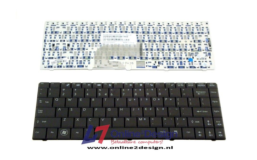 Medion / MSI US keyboard (chiclet style)