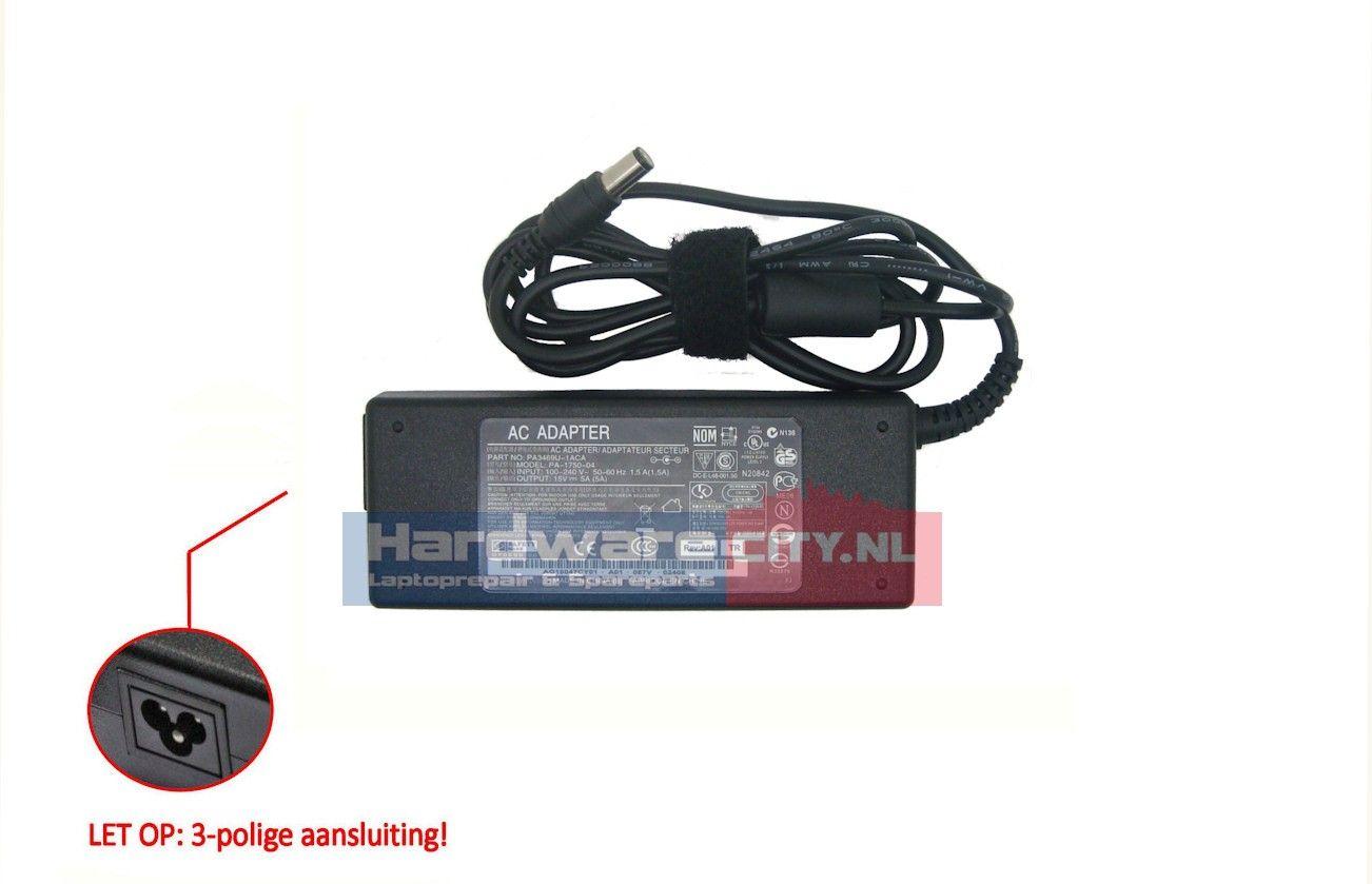 Toshiba AC Adapter 15V 5A 75W