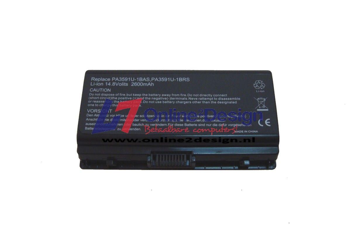 Toshiba Accu 14.8V 2600mAh