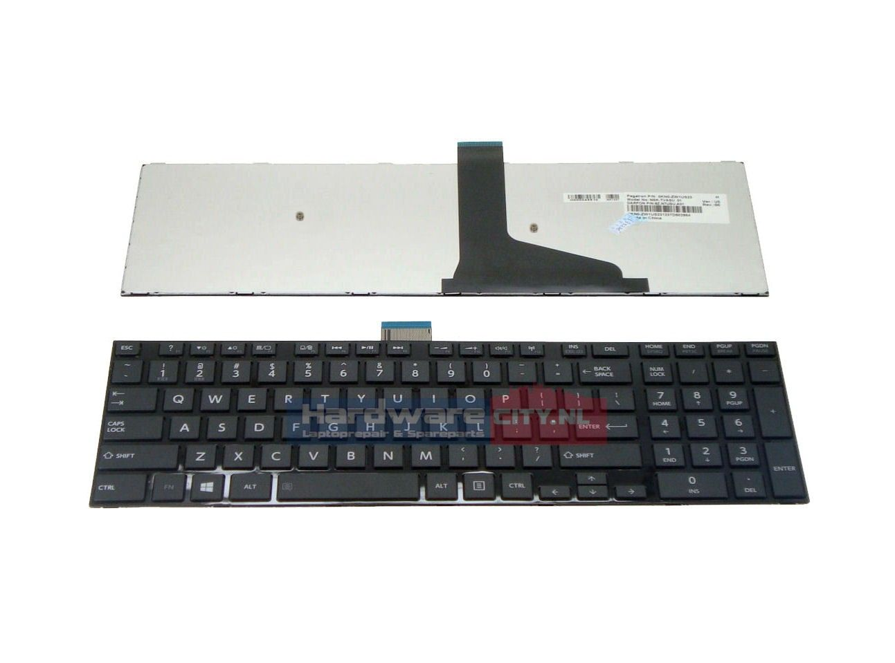 Toshiba Satellite L50/ L70 series US keyboard